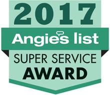 A NO Dealers awarded the 2017 Angie's List Super Service Award